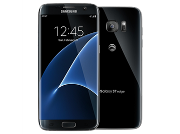 Samsung Galaxy S7 Edge 32GB black + TKH