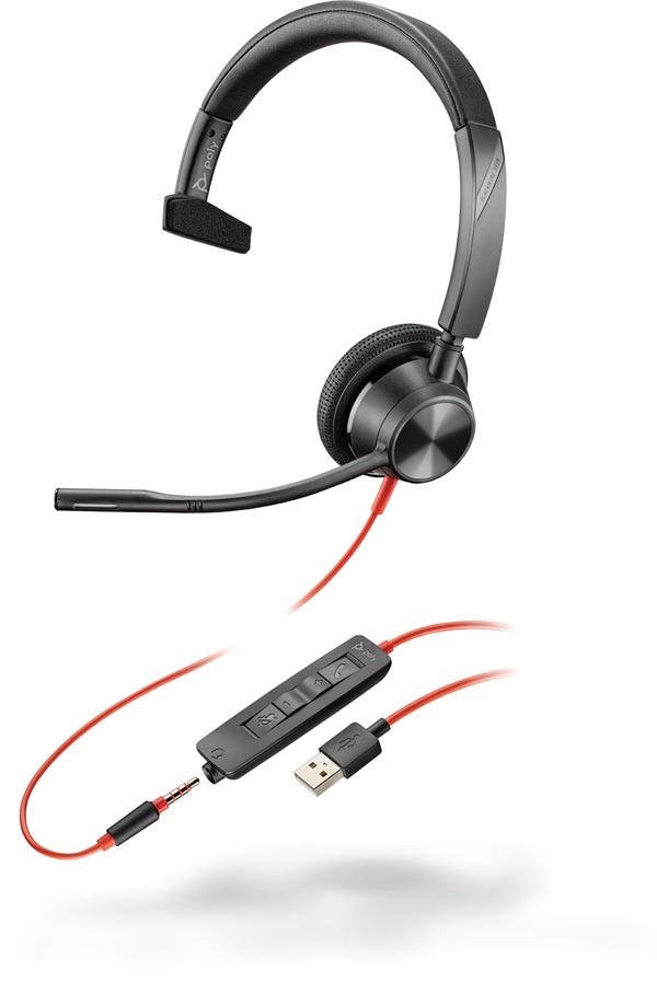Poly Blackwire 3315 USB-A